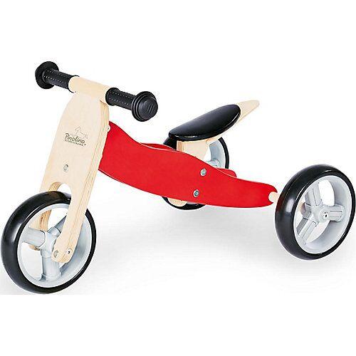 Pinolino Mini-Laufrad Charlie 4 in 1 rot