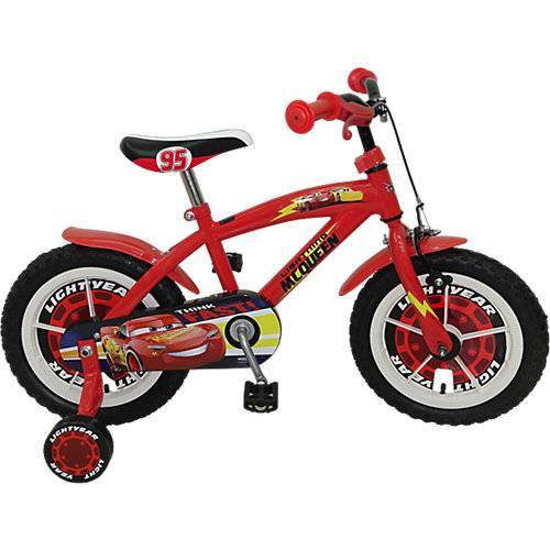 Stamp Cars Fahrrad, 14 Zoll rot
