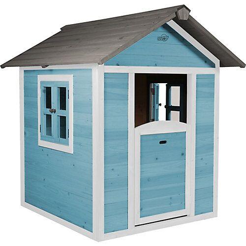 Axi Spielhaus (Caribean blue) blau/weiß