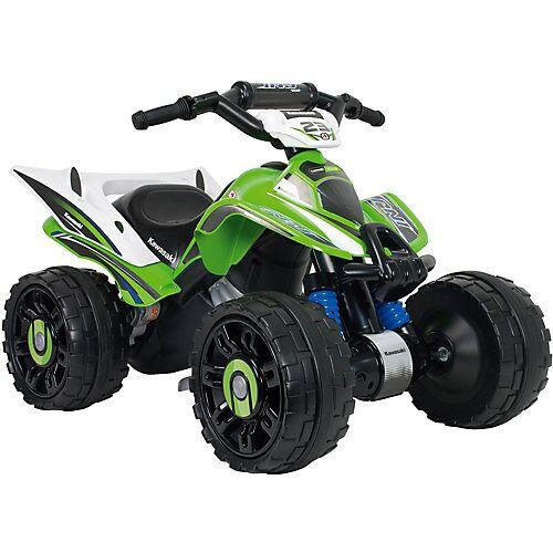 INJUSA Kawasaki Elektro Quad ATV 12V, grün