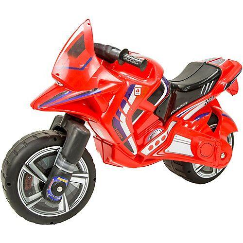 INJUSA Motorradlaufrad Hawk, rot