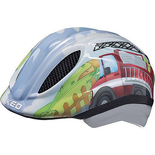 KED Helmsysteme Fahrradhelm Meggy Trend  Feuerwehr mehrfarbig