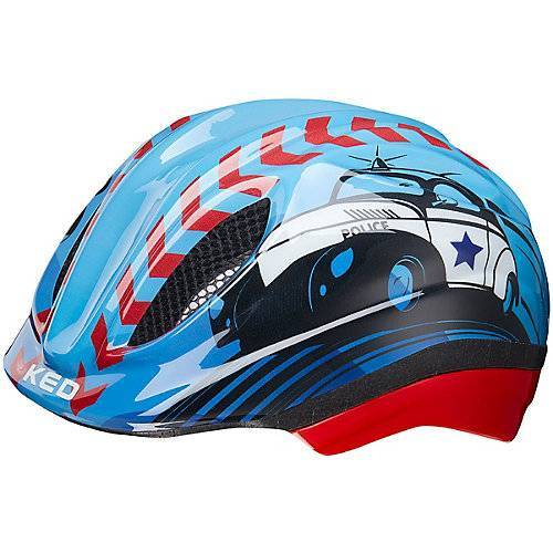 KED Helmsysteme Fahrradhelm Meggy Trend  Polizei, blau