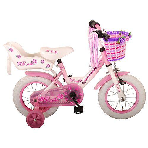 Volare Rose Kinderfahrrad - Mädchen - 12 Zoll - Pink - pink