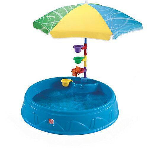 STEP2 Planschbecken Play & Shade mit Sonnenschirm