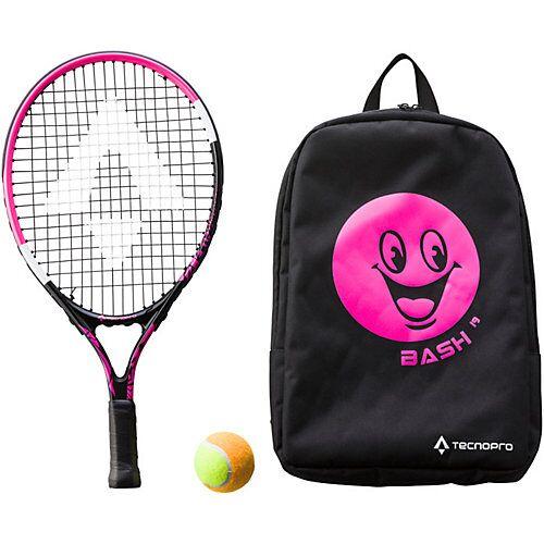 Tecnopro Tennisschläger Bash 19, pink