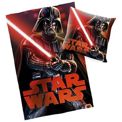Starwars Star Wars Decke & Kissen Set