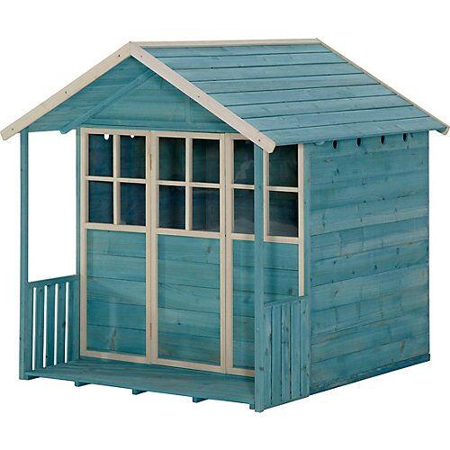 plum Holz-Spielhaus, türkis