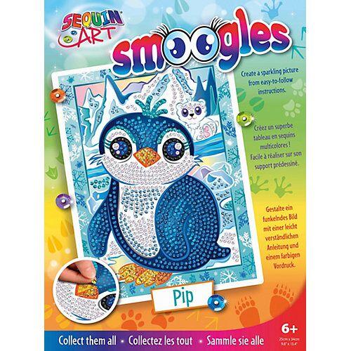 MAMMUT Spiel und Geschenk Sequin Art Tiere - Pinguin