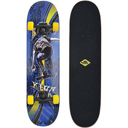 """Schildkröt """"Skateboard Slider 31"""""""" Cool King blau/gelb"""""""