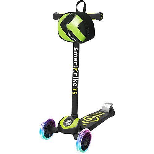 smarTrike Scooter T5 grün