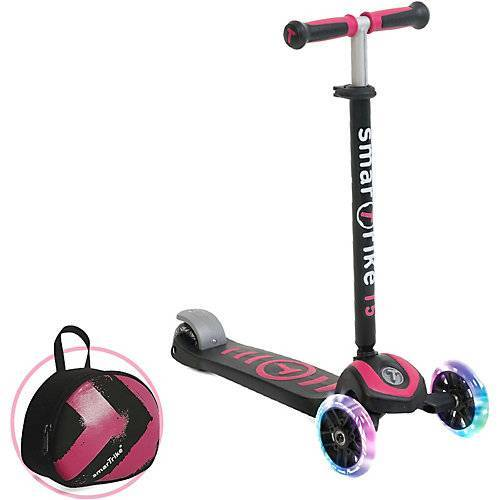 smarTrike Scooter T5 pink
