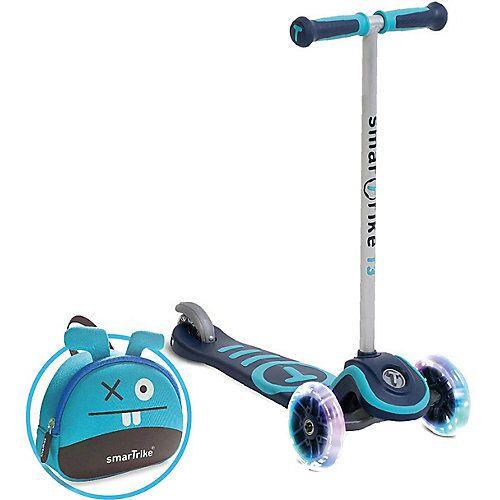 smarTrike Scooter T3 blau