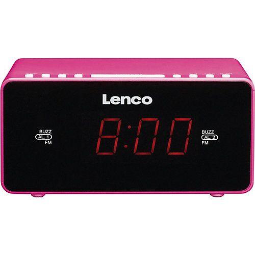 Lenco Radiowecker CR-510 pink