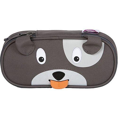 Affenzahn Stiftemäppchen Hugo Hund grau