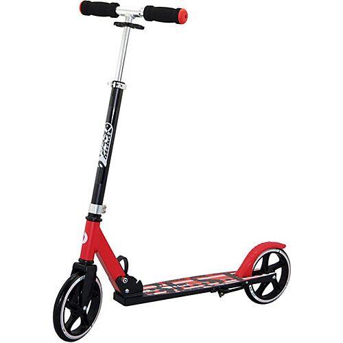 Best Sporting Scooter 205er, klappbar schwarz/rot