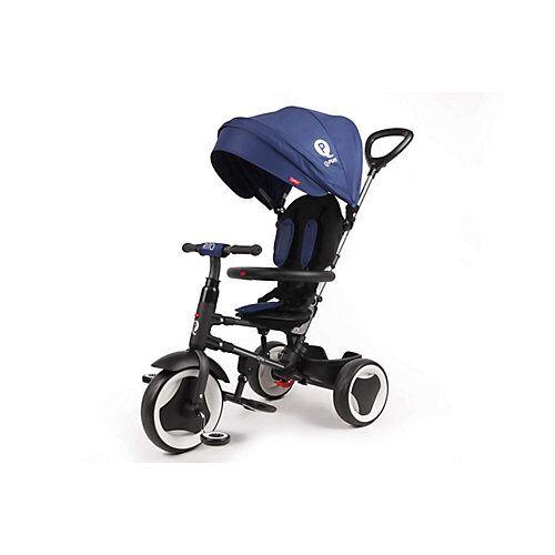 QPlay Dreirad Rito 3 in 1 - Jungen und Mädchen - Blau - Deluxe blau