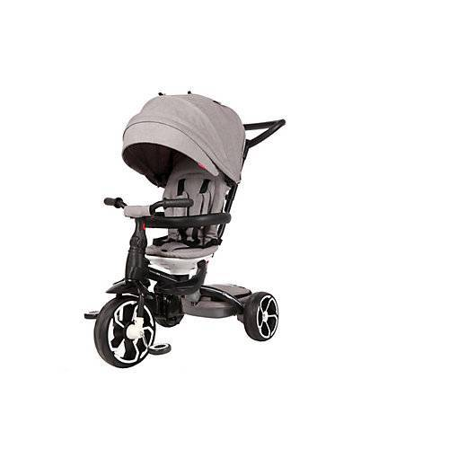 Qplay Dreiräder Prime 6 in 1 - Jungen und Mädchen - Grau grau