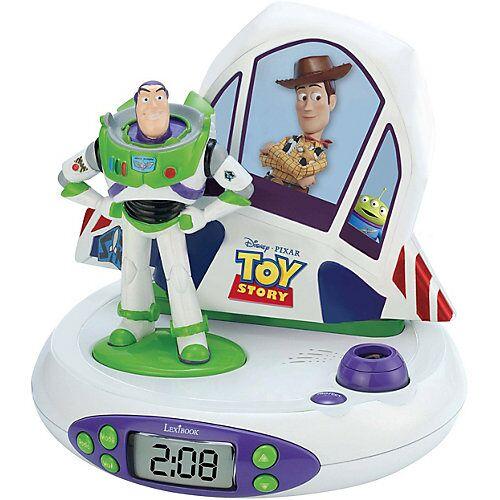 LEXIBOOK Toy Story - Wecker mit Projektor und Klingeltönen mehrfarbig