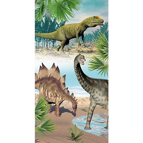 good morning BEDLINENS Strand- & Badetuch Dino, 75x150 cm