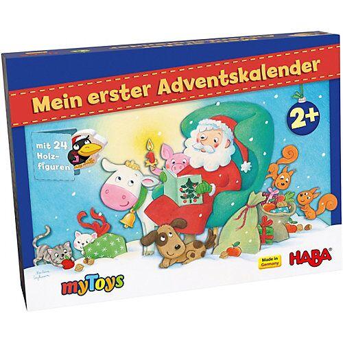 Haba Mein erster Adventskalender - Weihnachten auf dem Bauernhof bunt