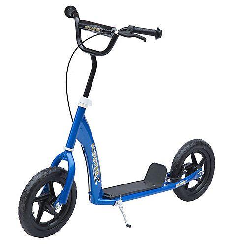 HOMCOM Kinder Cityroller blau