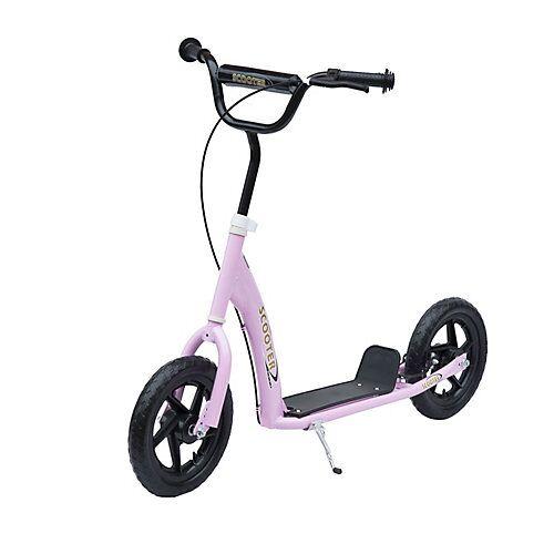 HOMCOM Kinder Cityroller pink