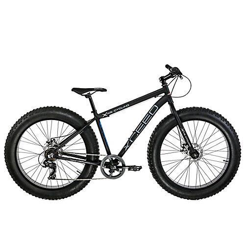 KS Cycling Mountainbike MTB Fatbike Xceed Mountainbikes schwarz
