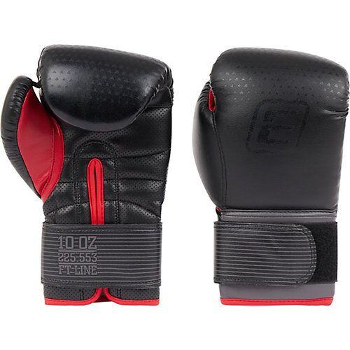 Energetics Boxhandschuhe PU FT grau/rot