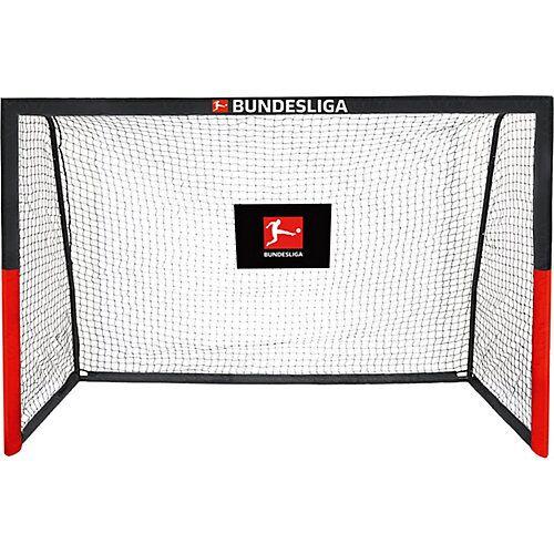 BUNDESLIGA Fußballtor 240 schwarz/rot