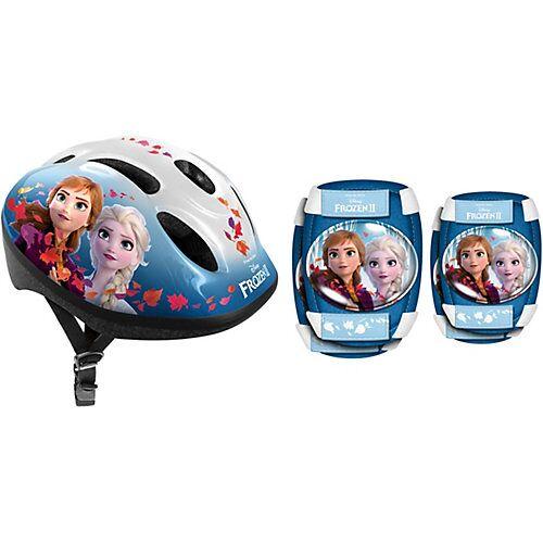 Disney Dieeiskoenigin Fahrradhelm Frozen Die Eiskönigin, inkl. Protektoren blau