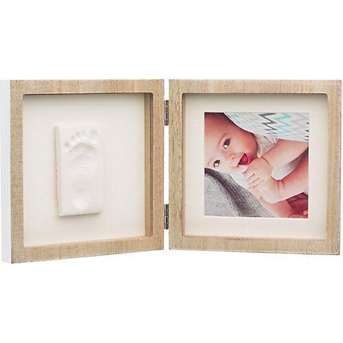 Baby Art Quadratischer Bilderrahmen My Baby Style, Wooden holzfarben