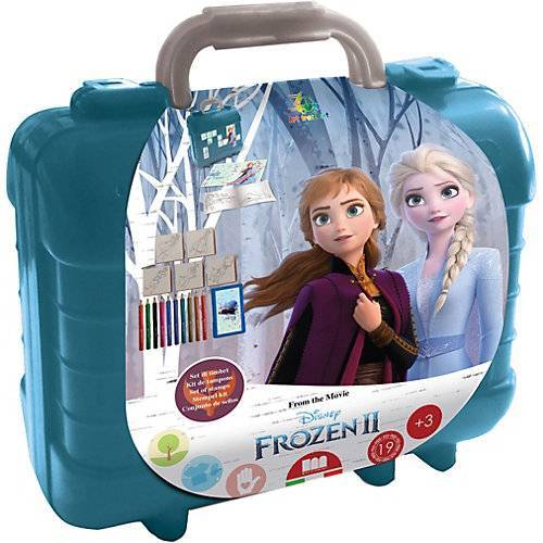 Disney Dieeiskoenigin Frozen 2 Travel Set  Malset