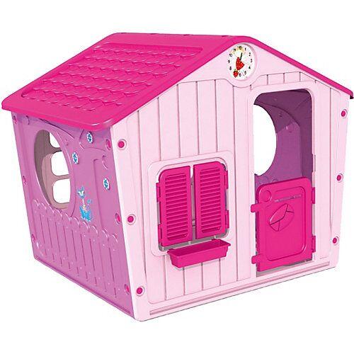 STARPLAST Spielhaus Galilee Village pink
