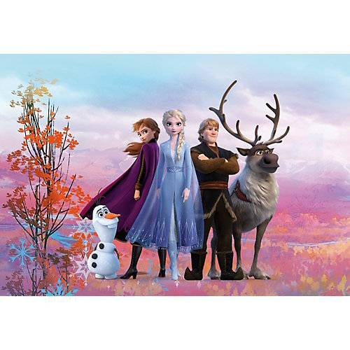 KOMAR Fototapete - Disney Frozen Iconic, 254x368 cm