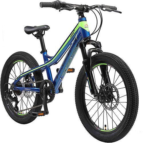 bikestar Kinderfahrrad 20 Zoll Alu-Mountainbike blau/grün