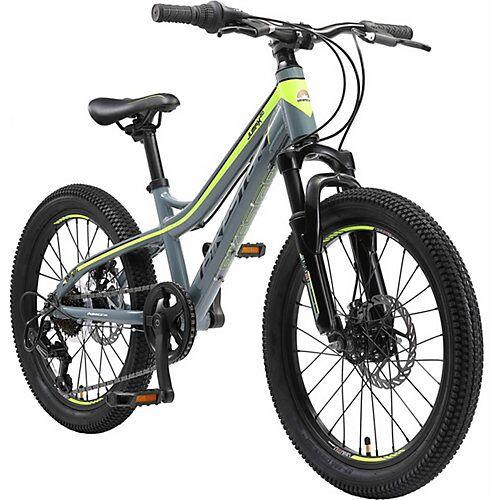 bikestar Kinderfahrrad 20 Zoll Alu-Mountainbike, petrol