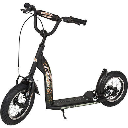 bikestar Kinderroller mit Luftreifen schwarz