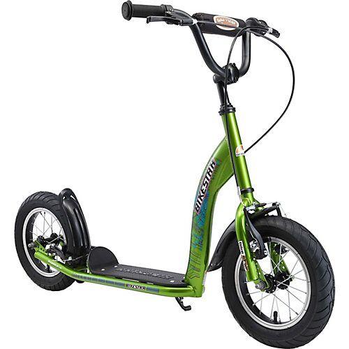bikestar Kinderroller mit Luftreifen grün