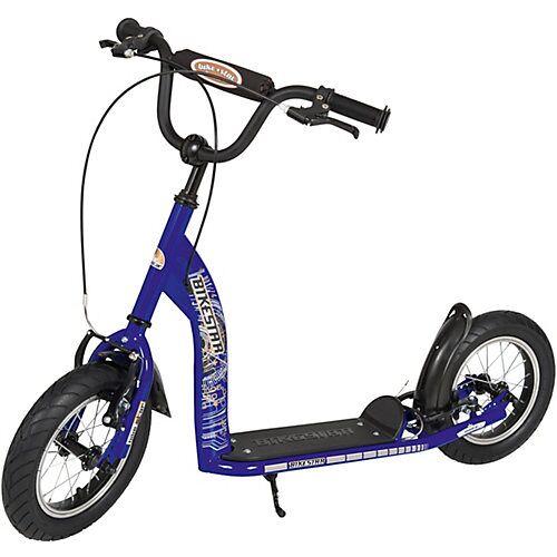 bikestar Kinderroller mit Luftreifen blau