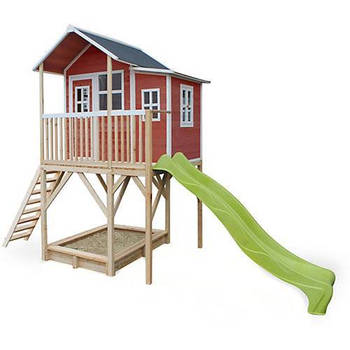 EXIT Spielhaus Loft 750 Rot (FSC 100%) rot