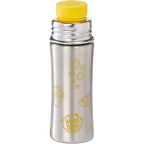 Affenzahn Edelstahl Trinkflasche Gelb, 330 ml gelb