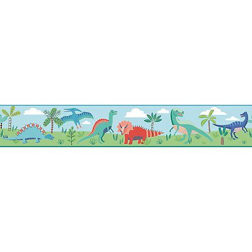 RoomMates Bordüre, Dinosaurier Parade