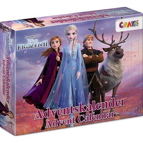 CRAZE Adventskalender Frozen II 41 x 32,5 x 6,2cm