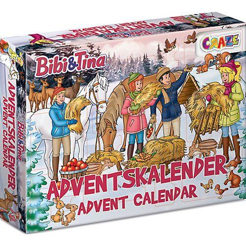 CRAZE Adventskalender Bibi & Tina 45 x 33,5 x 8cm
