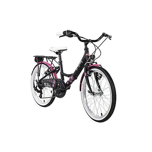 KS Cycling Kinderfahrrad 20'' Dandelion Alu Rahmen Fahrräder grau