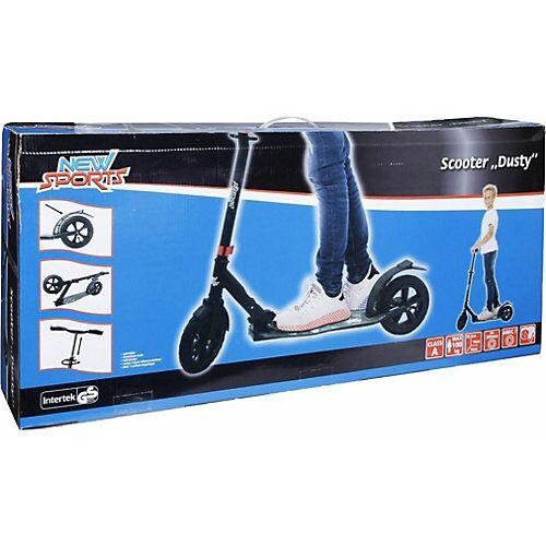 New Sports Scooter Dusty mit Luftreifen, 205 mm bunt