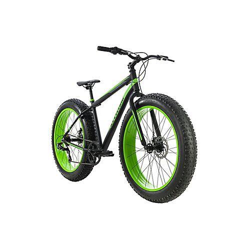KS Cycling Mountainbike MTB Fatbike Fat-XTR Mountainbikes Rahmenhöhe: 46 cm schwarz