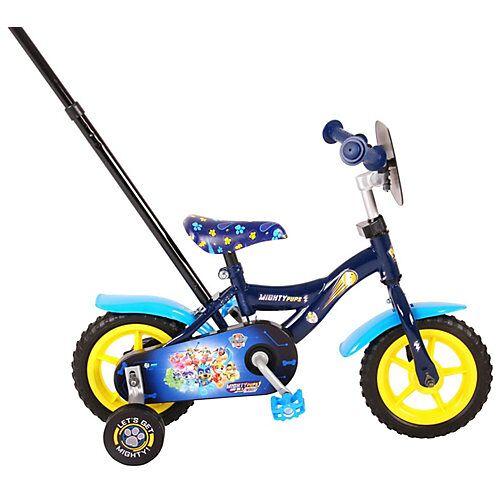 Volare Mighty Pups 10 Zoll Kinderfahrrad blau