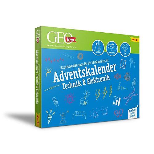 GEOlino Technik & Elektronik Adventskalender blau/grün